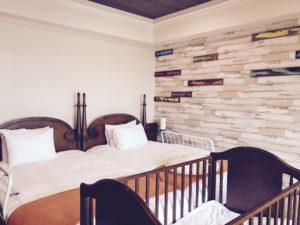 ホテル日航アリビラのベッド