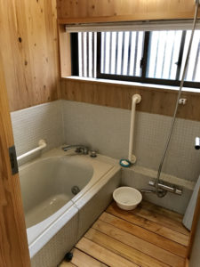 れいほくスケルトンハウスお風呂