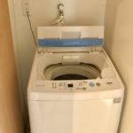 れいほくスケルトンハウス洗濯機