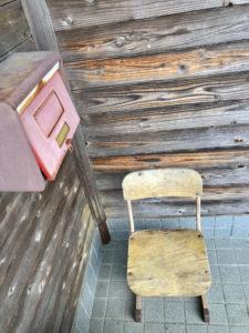 清流館懐かしい椅子