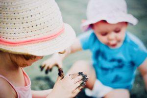 時短勤務で早く帰れると子どもと遊べる。