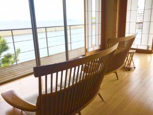 ホテルニューアワジ天宮の雫椅子